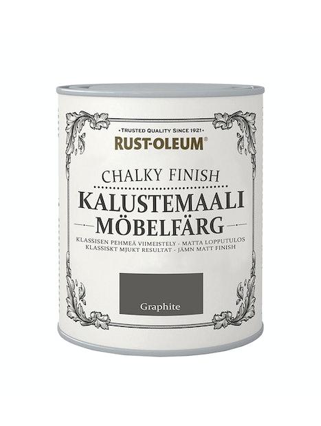 RUST-OLEUM CHALKY FINISH KALUSTEMAALI 750ML GRAPHITE