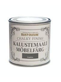 RUST-OLEUM CHALKY FINISH KALUSTEMAALI 125ML GRAPHITE