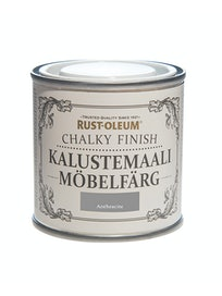 RUST-OLEUM CHALKY FINISH KALUSTEMAALI 125ML ANTHRACITE