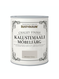 RUST-OLEUM CHALKY FINISH KALUSTEMAALI 750ML WINTER GREY