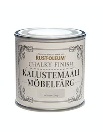 RUST-OLEUM CHALKY FINISH KALUSTEMAALI 125ML WINTER GREY
