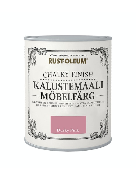 RUST-OLEUM CHALKY FINISH KALUSTEMAALI 750ML DUSKY PINK