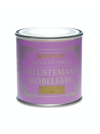 RUST-OLEUM METALLIC FINISH KALUSTEMAALI 125ML GOLD