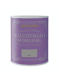 RUST-OLEUM METALLIC FINISH KALUSTEMAALI 750ML SILVER