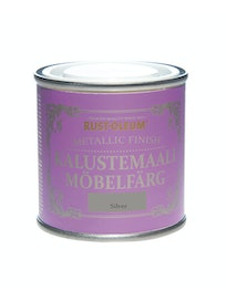 RUST-OLEUM METALLIC FINISH KALUSTEMAALI 125ML SILVER