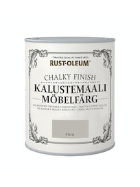 RUST-OLEUM CHALKY FINISH KALUSTEMAALI 750ML FLINT