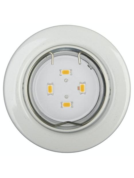 UPPOSPOTTI TLT LED 5X1,5W VALKOINEN IP23