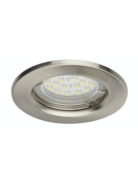 UPPOSPOTTI TLT LED 5X1,5W TERÄS IP23
