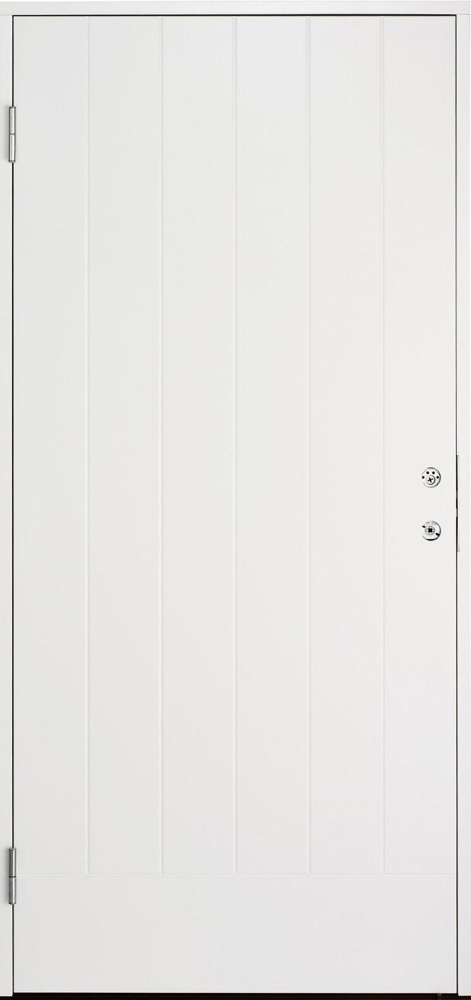 Ytterdörr Cello Vit Tät 10x21 Vänster