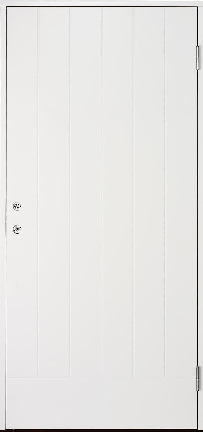 Ytterdörr Cello Vit Tät 10x21 Höger