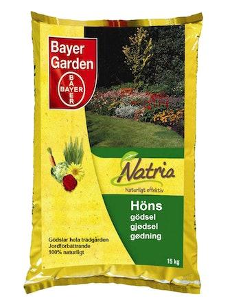 Hönsgödsel Bayer Natria 15 kg