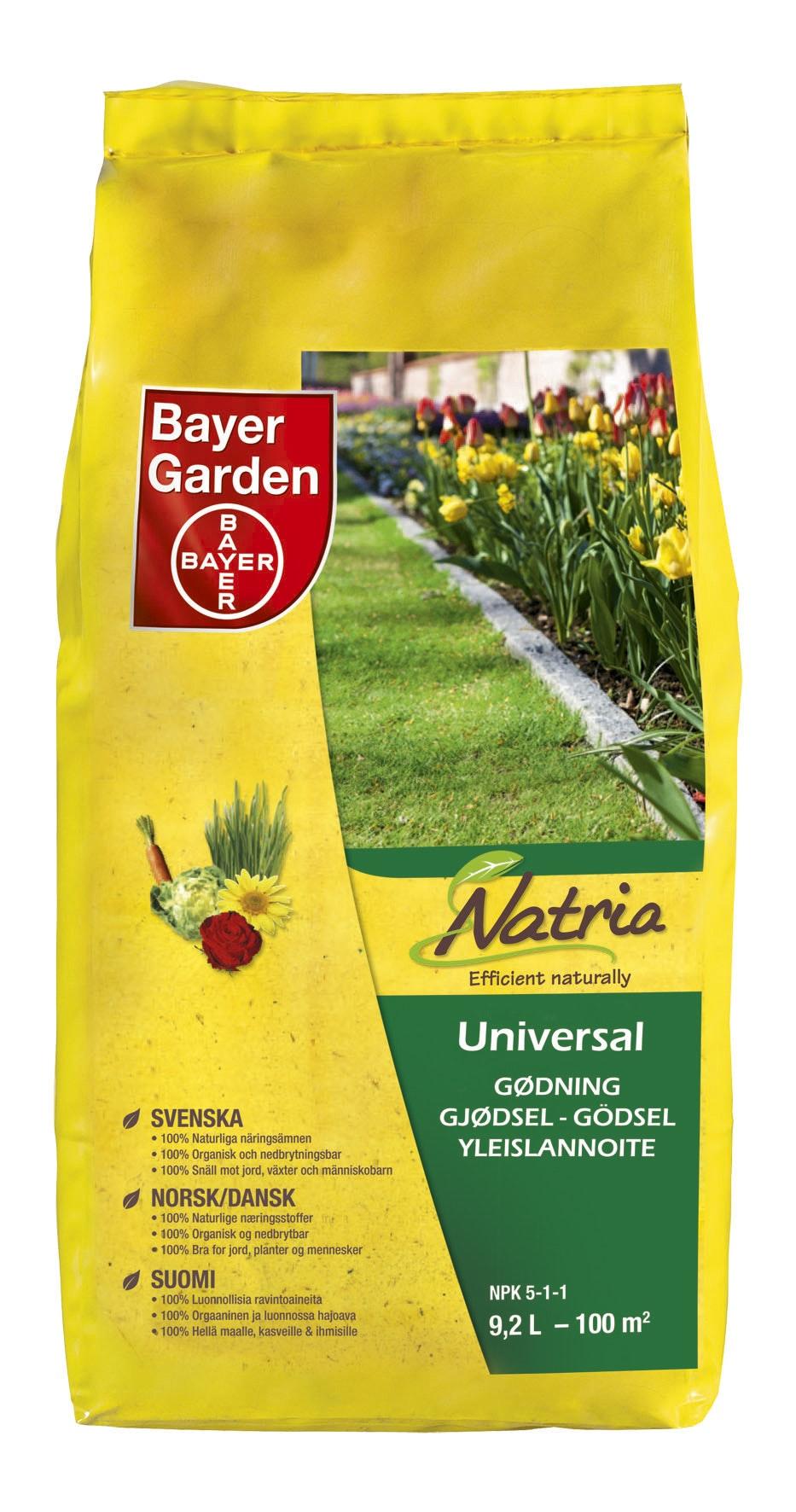 Universalgödsel Bayer Organic Natria 6 kg