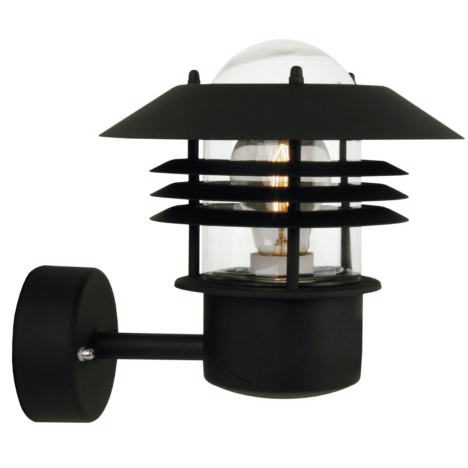 Utevägglampa Vejers Svart IP54