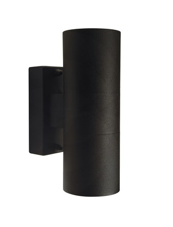 Utelampa Nordlux Tin Svart Ip54 Gu10 2X35W