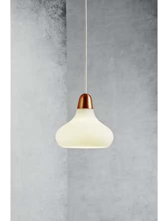 Lampa Pendel Nordlux Bloom 21 E27 Koppar Borstat Stål