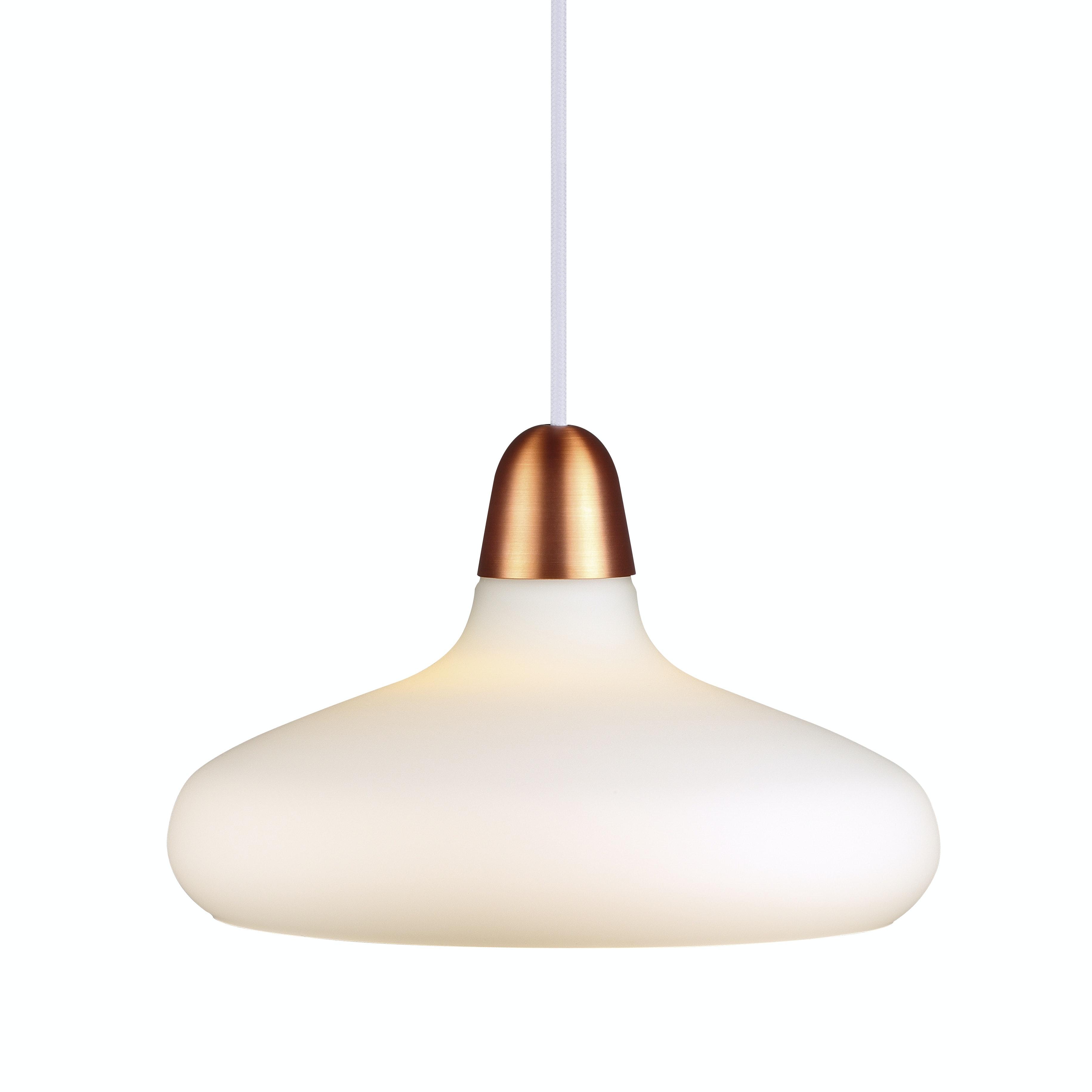 Lampa Pendel Nordlux Bloom 29 E27 Koppar Borstat Stål