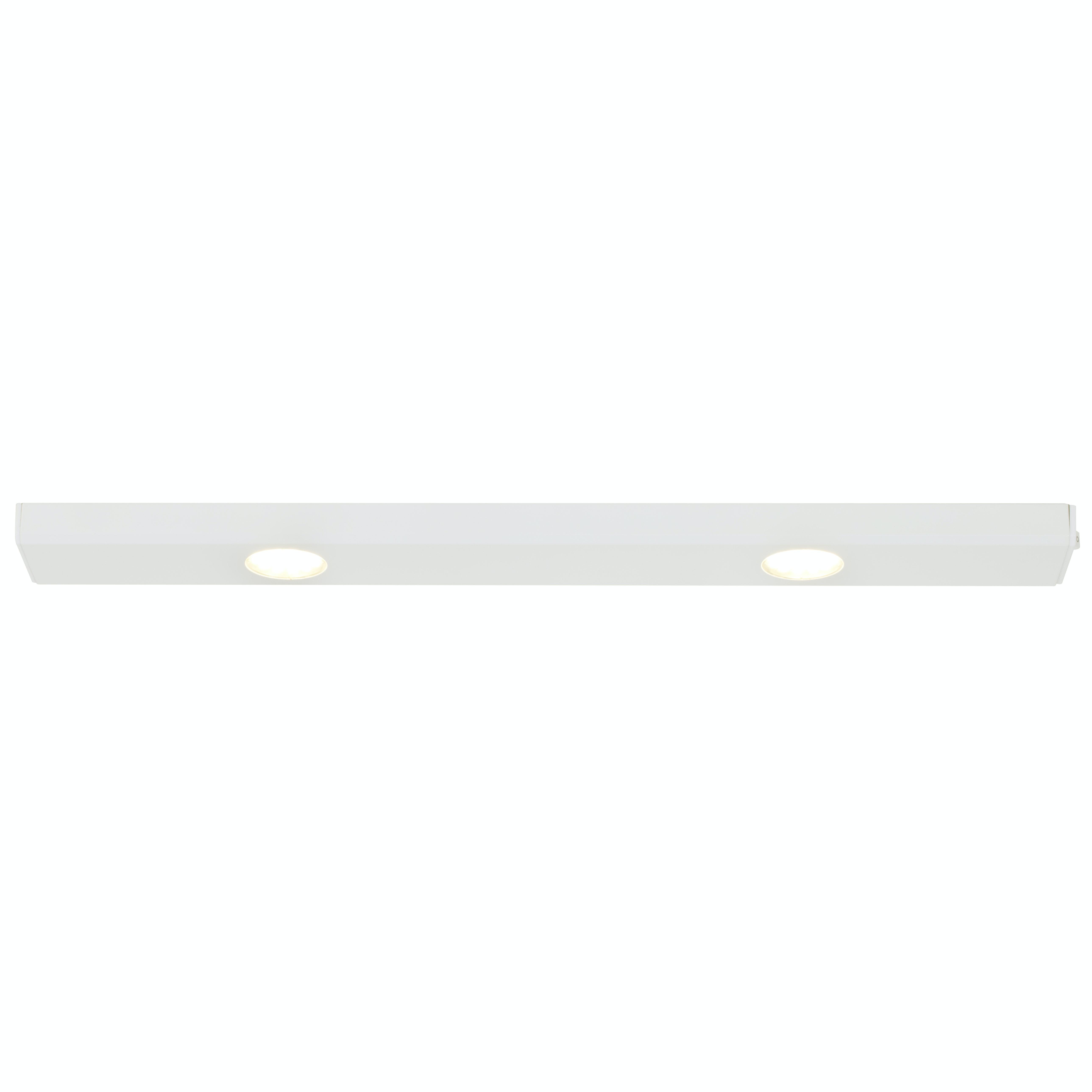 Bänkbelysning Nordlux Cabinet Led 2x3W Ej Dimbar Vit