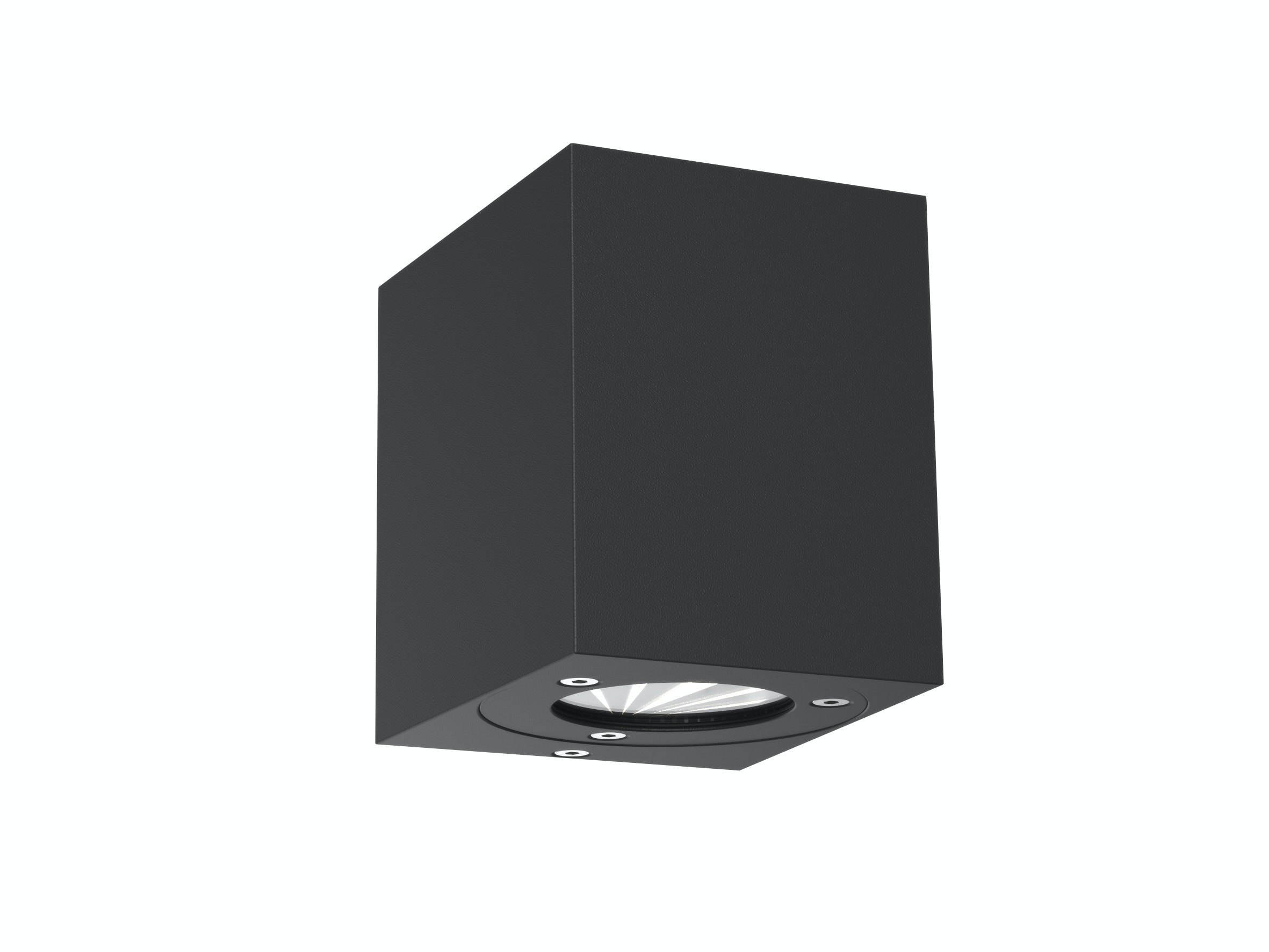 Vägglampa Nordlux Canto Qubi LED 2x5W COB IP44 Svart