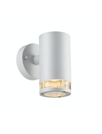 Vägglampa Nordlux Birk Enkelt IP44 Gu10 Vit