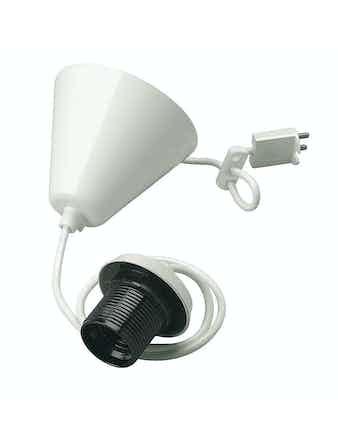 Lampupphäng Jo-El Komplett E27 0,9m Ledning 729170