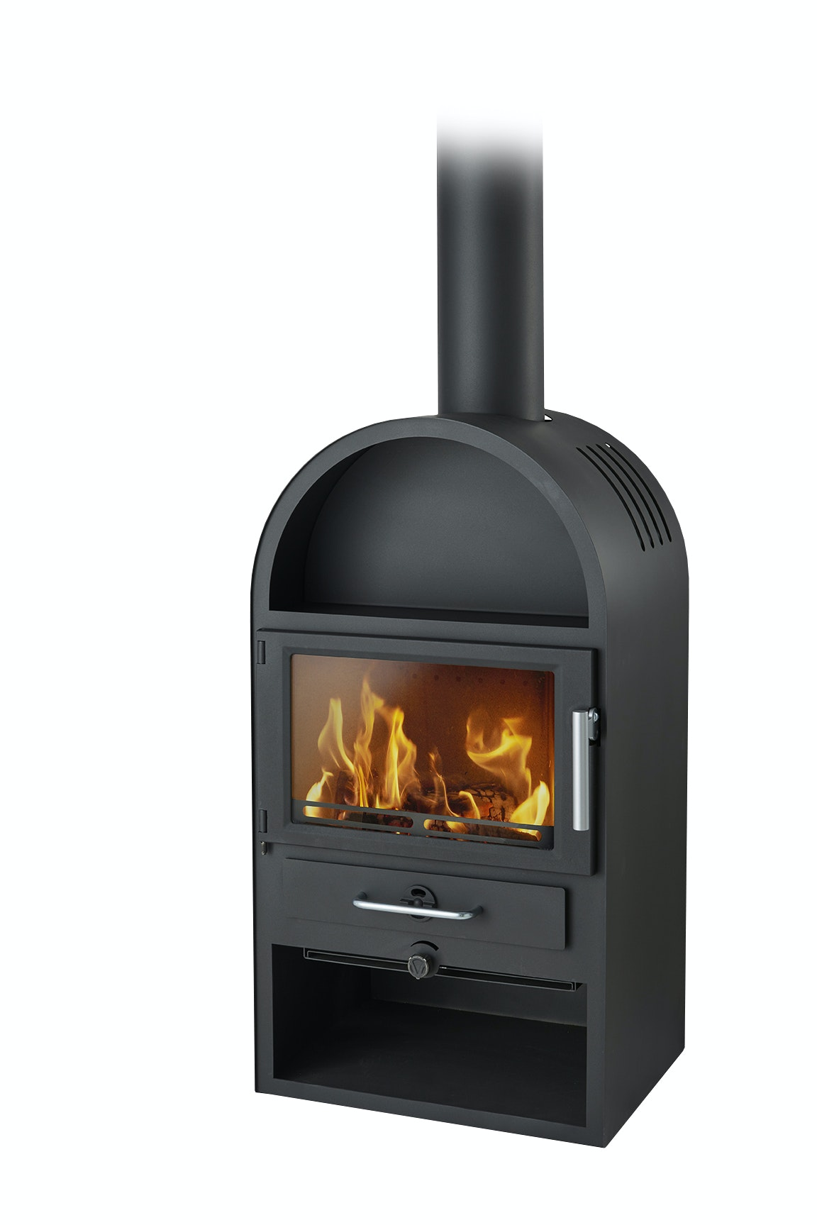 Kamin Varde Thurö 12 Black