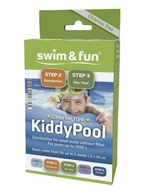 DESINFIOINTIAINE SWIM & FUN KIDDYPOOL 5X25ML