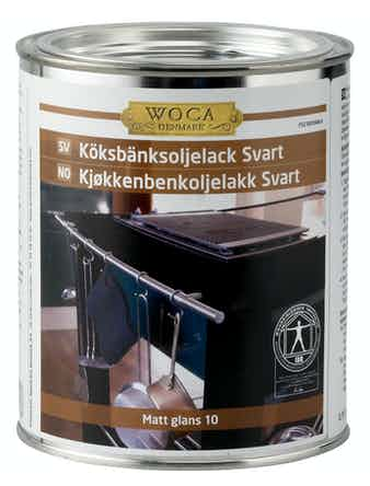 Oljelack Woca För Köksbänkar Svart 750ml