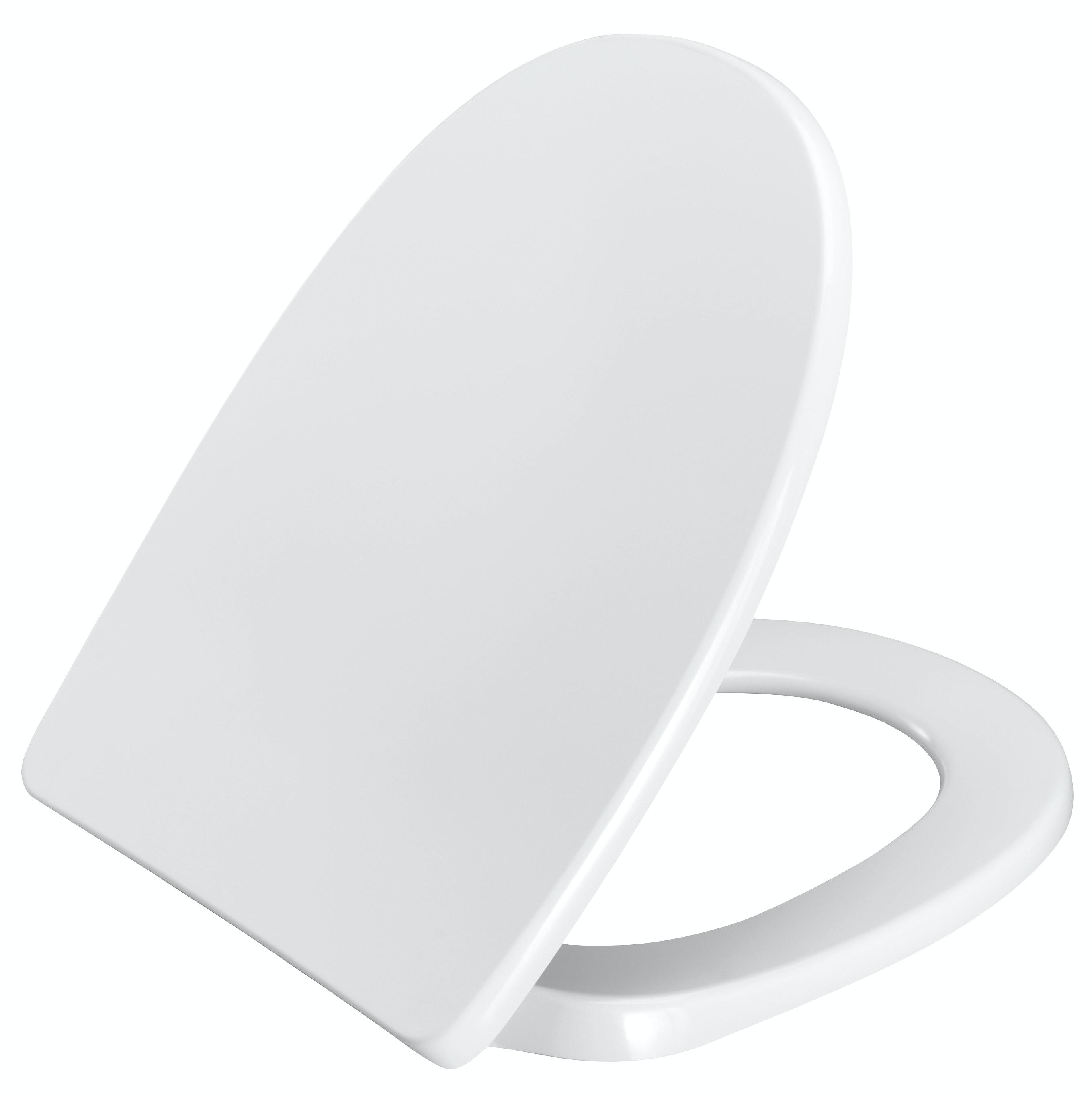 Toalettsits Saniscan Norden Soft Lift Off Vit