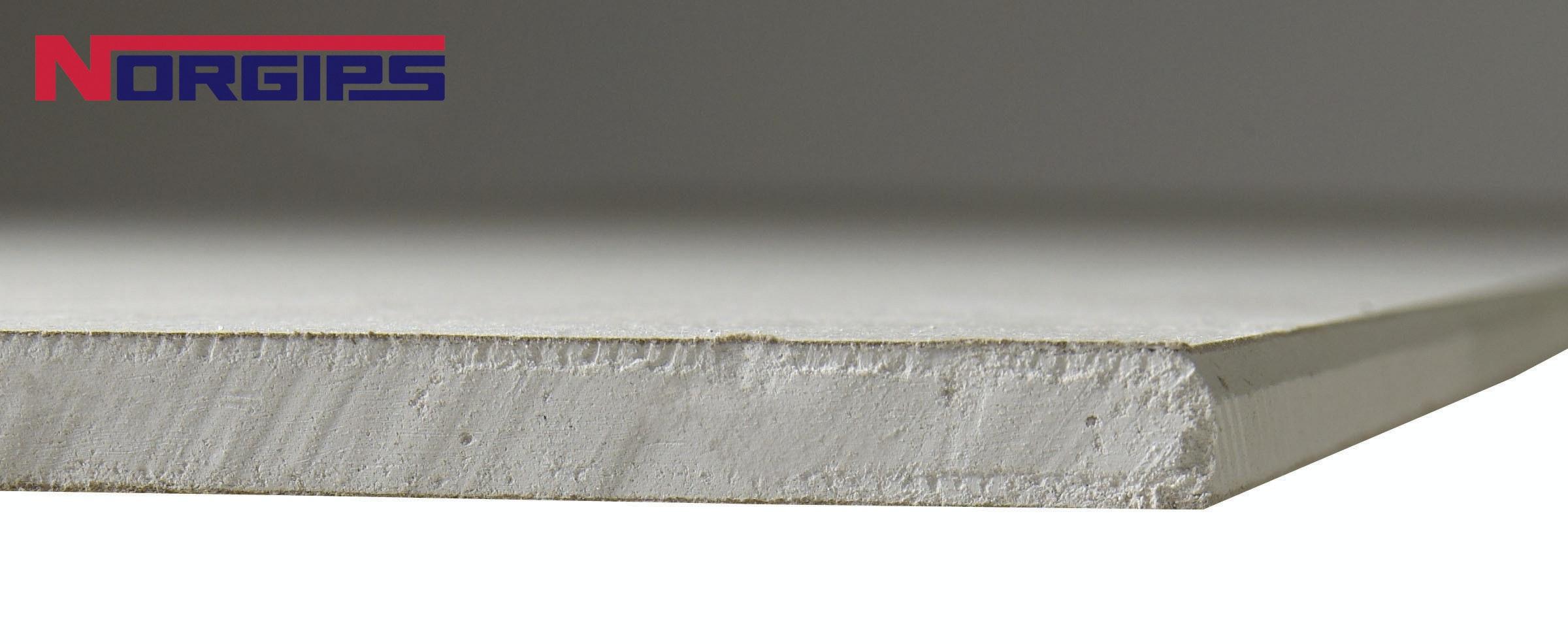 Gipsskiva Norgips Kortplank Fasad 13X600X2400mm