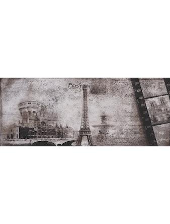 Декор настенный Postcard grey 3, 20 х 50 см