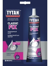 Клей ClassicFix TYTAN монтажный прозрачный 100 мл
