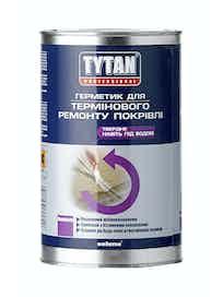 Герметик для Ремонта Кровли Tytan, бесцветный, 1 кг
