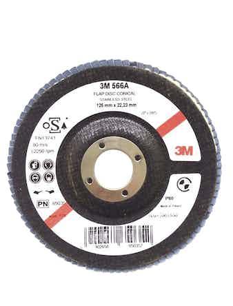 Круг 3М конический 566A P80