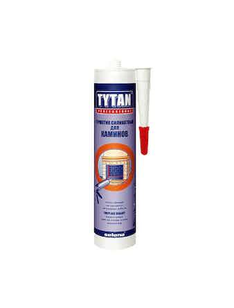 Герметик силикатный Tytan Professional для каминов черный 310 мл