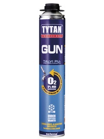 Пена профессиональная зимняя Tytan Gun O2, 750 мл
