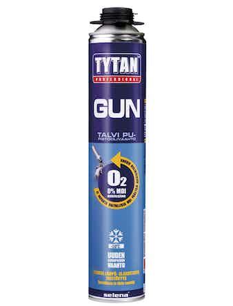 Пена профессиональная зимняя Tytan GUN O2 750 мл