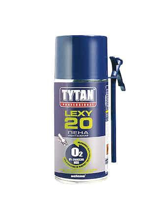 Пена монтажная бытовая Tytan LEXY20 300мл всез