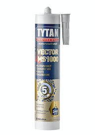 Клей TYTAN Professional Vector MS-1000 белый, 310 мл