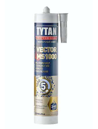 Клей TYTAN Professional Vector MS-1000 белый, 310 мл