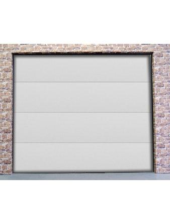 Garageport Slät vit 2400x2000