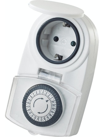 Timer OK Mekanisk Utomhus IP44