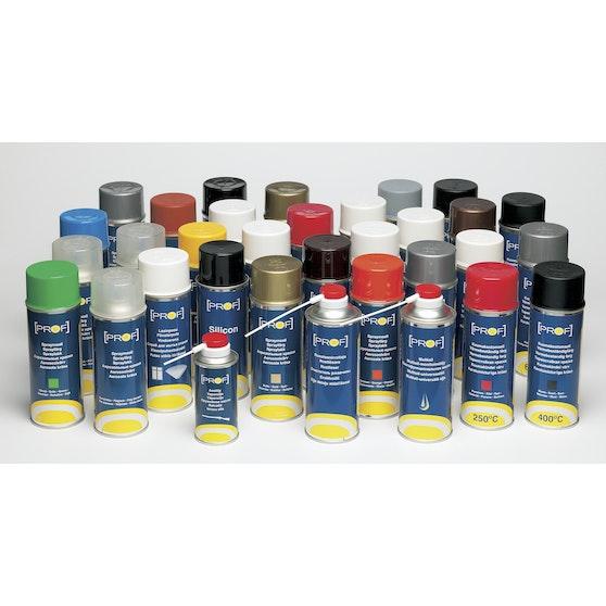 Fräscha Sprayfärg Prof Matt Svart 572600 - K-rauta XO-48