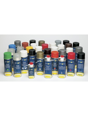 Sprayfärg Prof Vit Glans 572603