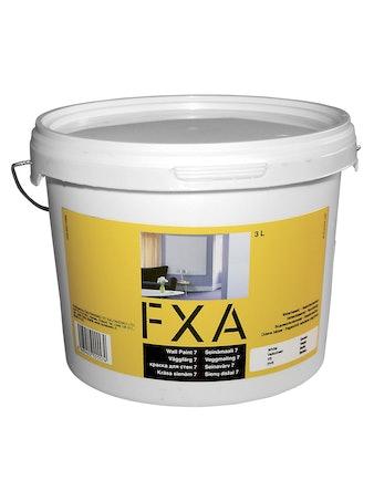 Väggfärg - FXA, glans 7, 3 liter