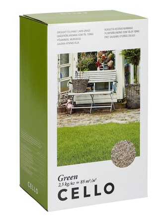 Травосмесь Cello green, 2,5 кг