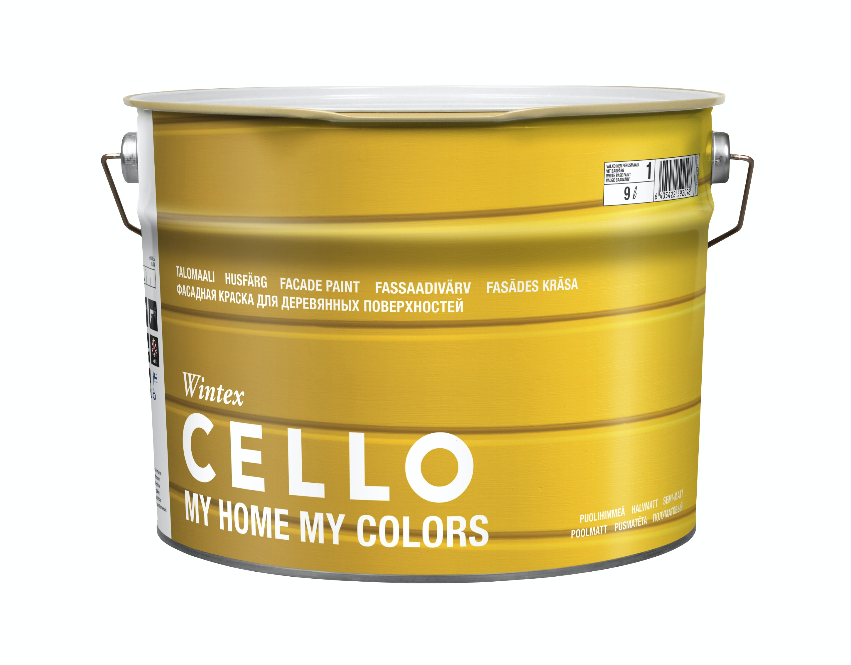 Utomhusfärg Cello Wintex Halvmatt Bas 3 9l
