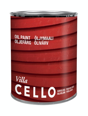 CELLO VILLA OLJEFÄRG GRUND PM1 0,9 L