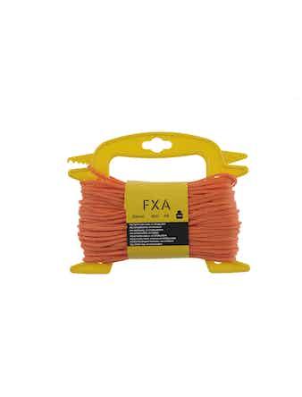 Lina Fxa Polyetyl Flätat Orange 3mmX30m