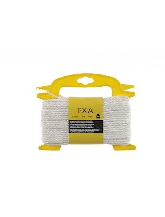 Lina Fxa Polyester Flätat Vit 3mmX30m