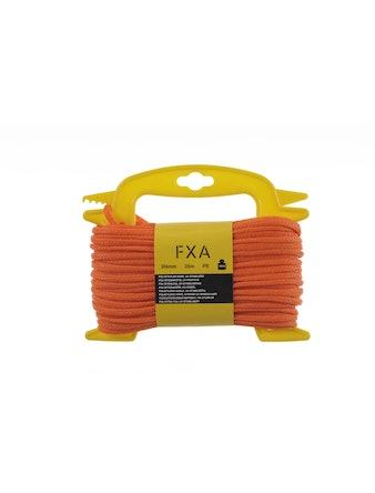 Lina Fxa Polyetyl Flätat Orange 4mmX25m